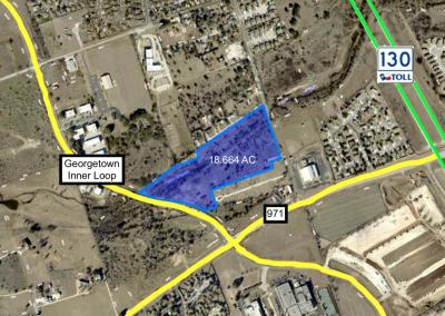 18.664 AC – Georgetown Inner Loop – For Sale