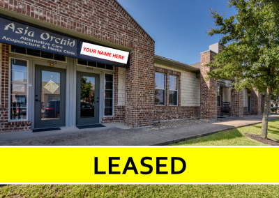 Professional Office | 836 SF | For Lease